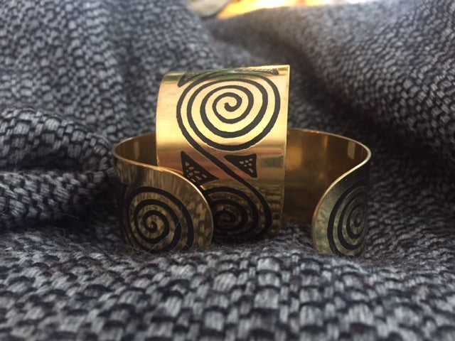 Cuff Bracelets by Aquafortress - Newgrange and Book of Kells