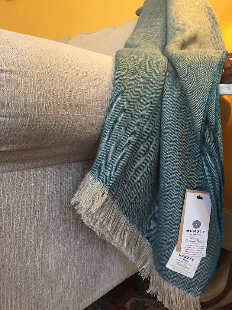 Irish Linen Throws by McNUTT of Donegal