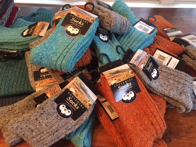 Connemara Socks in Size Small are in!