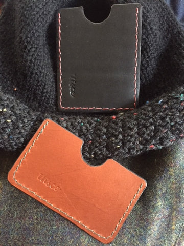 *Handmade Leather Card Holders