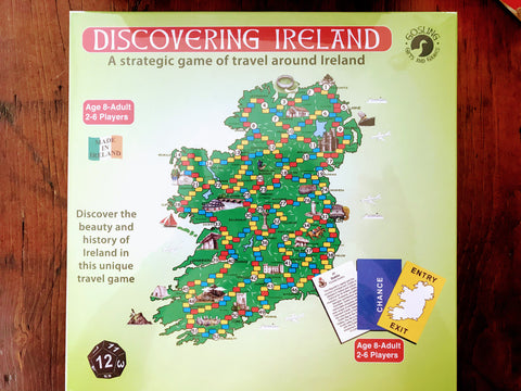 *Discovering Ireland- A Strategic Game of Travel around Ireland