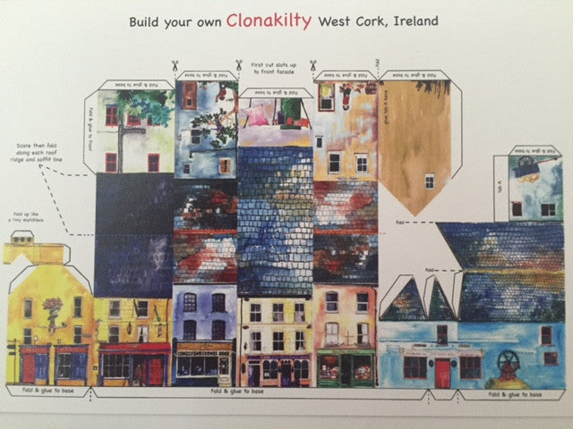 Ireland Tiny Town Cards -Clonakilty