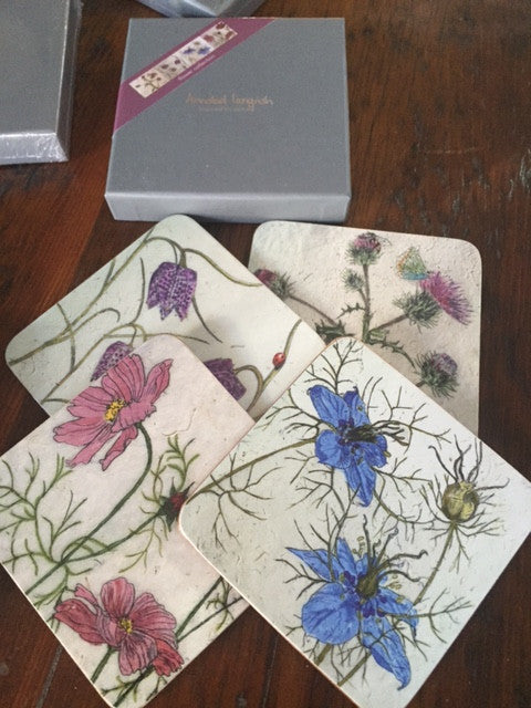 Coasters by Annabel Langrish