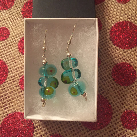 Glass Earrings by Maura Whelan
