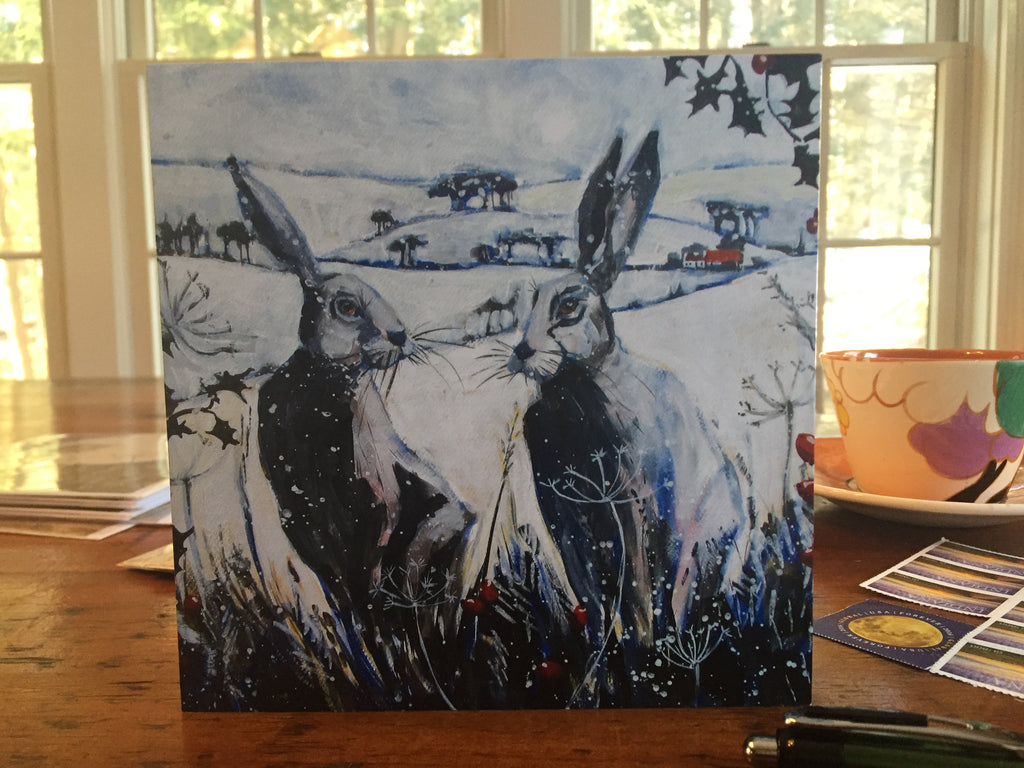Winter Hares by Annabel Langrish