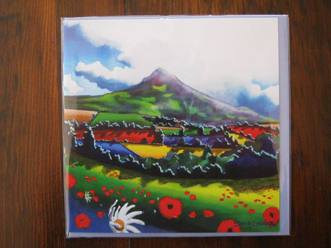 Greeting Cards by Eoin O'Connor - The Sugarloaf
