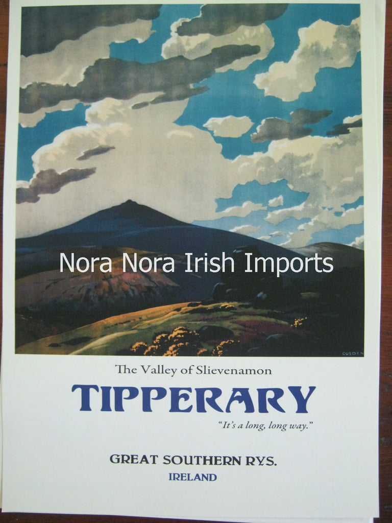 Tipperary Vintage Travel Posters