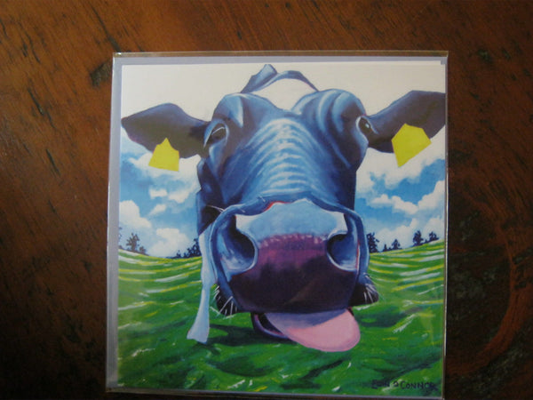 Greeting Cards by Eoin O'Connor - The Licker