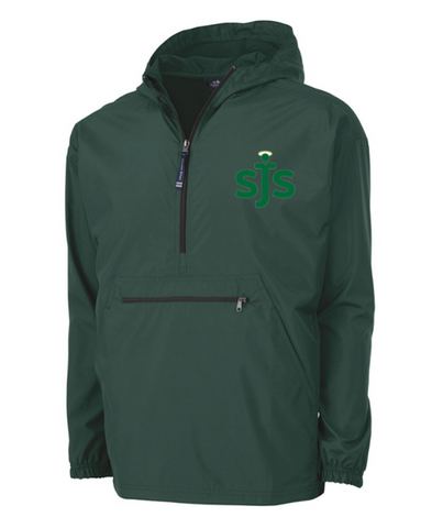 Wind and Water Resistent Pull Over with SJS logo