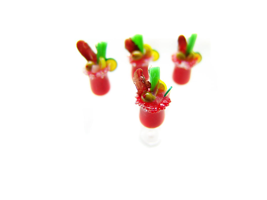 Bloody Mary Cocktail Charm - Sucre Sucre Miniatures