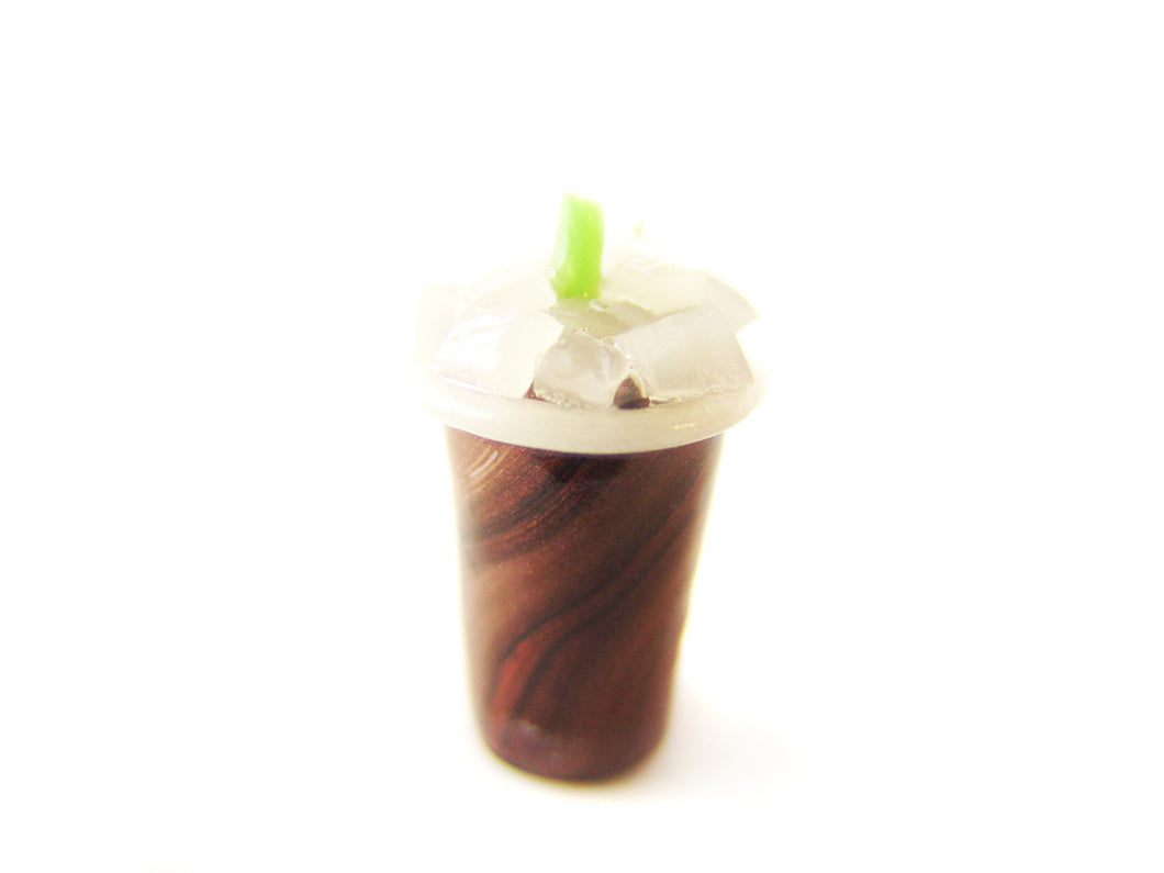 Iced Black Coffee Charm - Sucre Sucre Miniatures