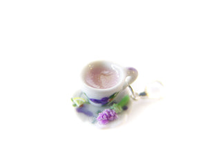 May Flowers Lavender Hot Tea Charm *Limited Release*