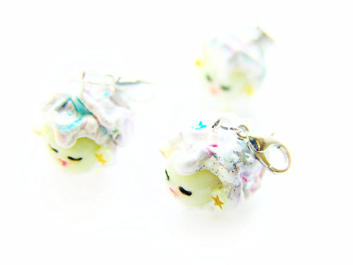 Sleepy Sheep Society Space Sheep Charm - Sucre Sucre Miniatures