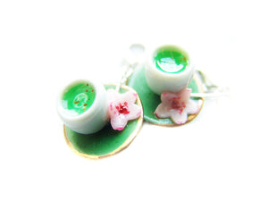 Green Tea Ceremony Charm - Sucre Sucre Miniatures