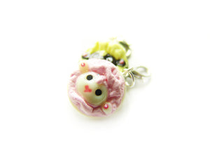 Sleepy Sheep Marshmallow Fluff Cookie Charm - Sucre Sucre Miniatures