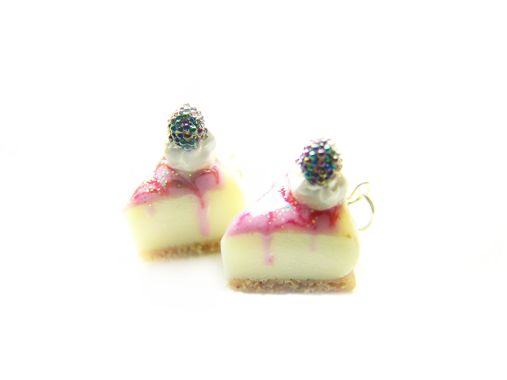 Blackberry Cheesecake Charm - Sucre Sucre Miniatures