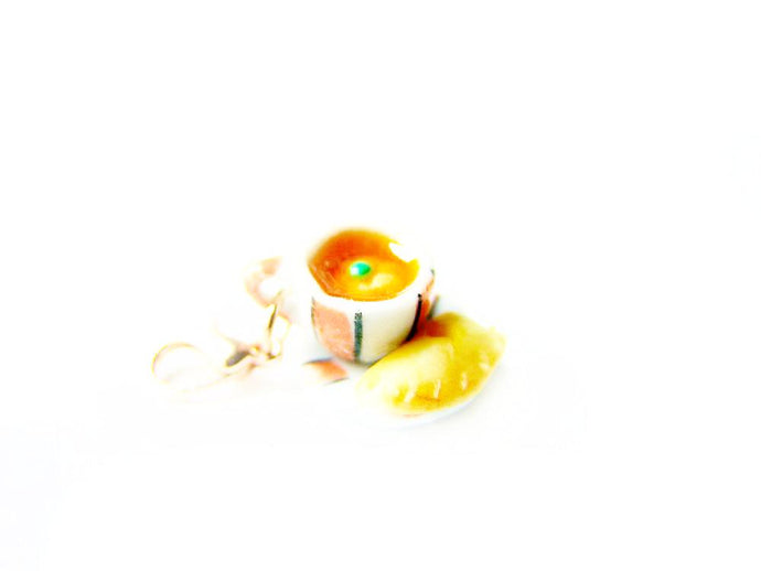 Sucre Sucre Miniatures Presents: Wizardr-tea Charm Collection, No.001 Pumpkin Juice Hot Tea - Sucre Sucre Miniatures