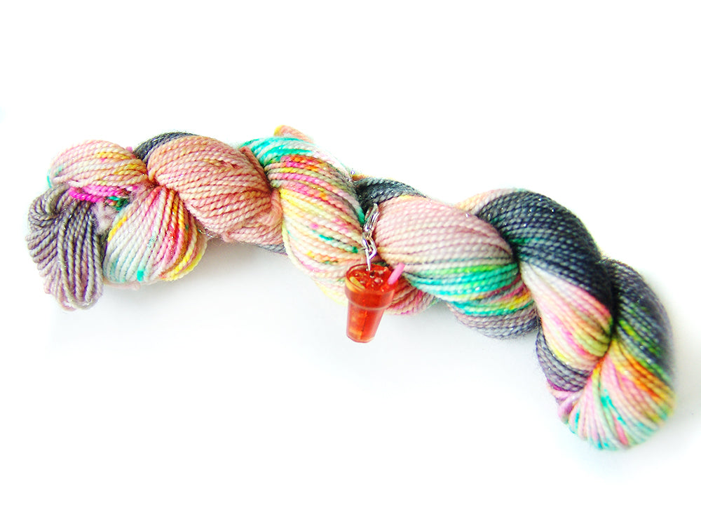 It's Alive! | Stellina Sparkle Mini, Single | SSM Marketplace Signature Yarn - Sucre Sucre Miniatures