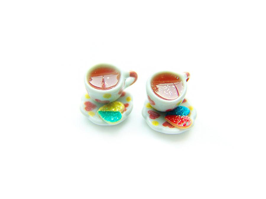 Wizardr-tea Charm Collection, No.005 Amortentia Rose Tea - Sucre Sucre Miniatures