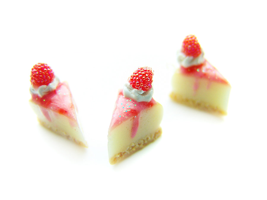 Raspberry Cheesecake Charm - Sucre Sucre Miniatures