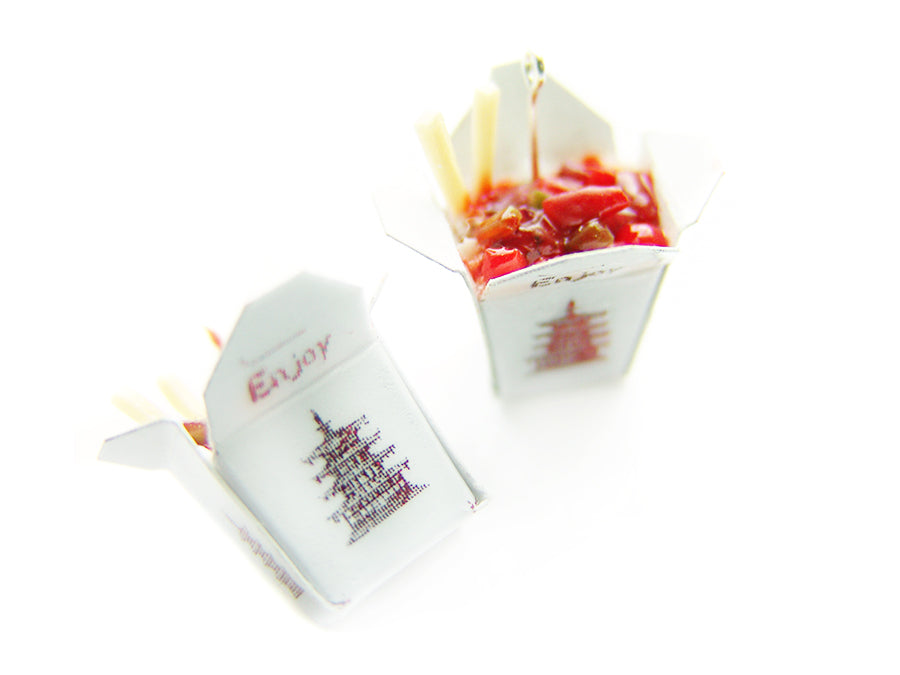 Chinese Takeout Charm - Sucre Sucre Miniatures