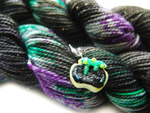 Load image into Gallery viewer, Maleficent | Stellina Sparkle Mini, Single | SSM Marketplace Signature Yarn - Sucre Sucre Miniatures