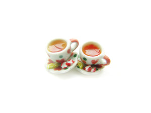 Peppermint Hot Tea Holiday 2018 Charm - Sucre Sucre Miniatures