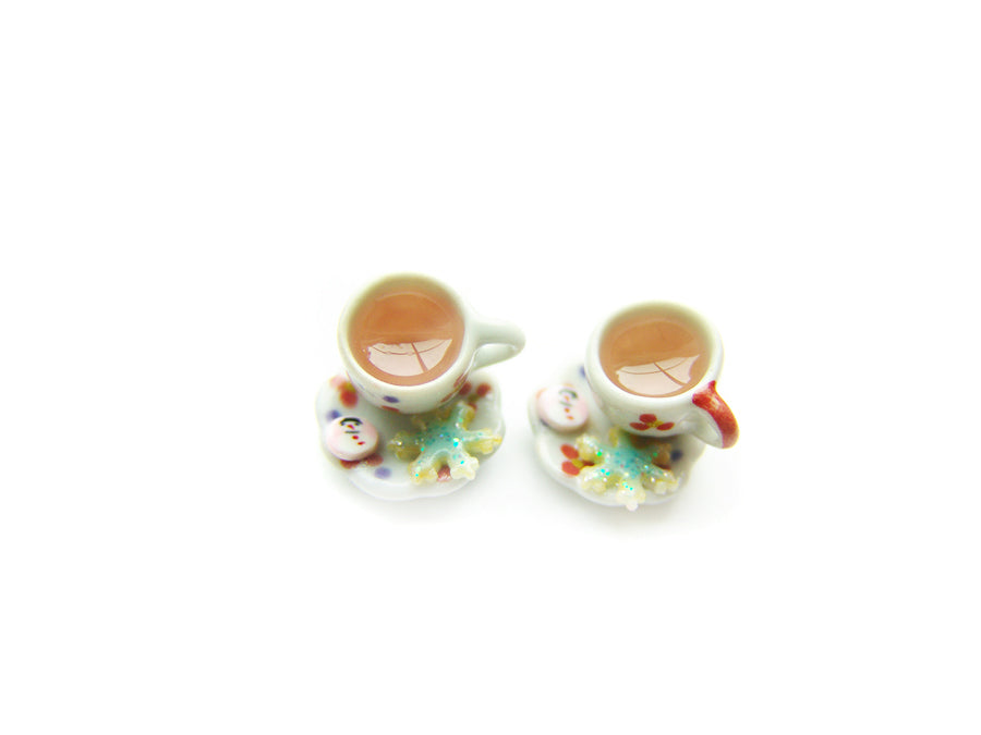 Noon Chai Kashmiri Hot Tea A Very Sucre Sucre Holiday 2018 Charm - Sucre Sucre Miniatures