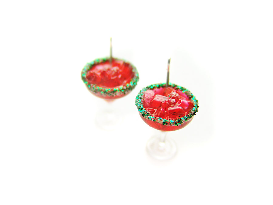 Sugared Cranberry Margarita Holiday 2018 Charm - Sucre Sucre Miniatures