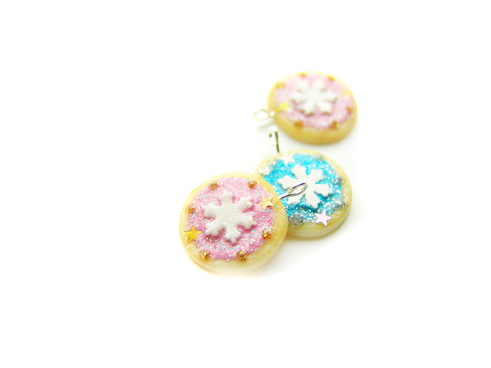 Snowflake Sugar Cookie Charm, A Very Sucre Sucre Holiday 2018 - Sucre Sucre Miniatures