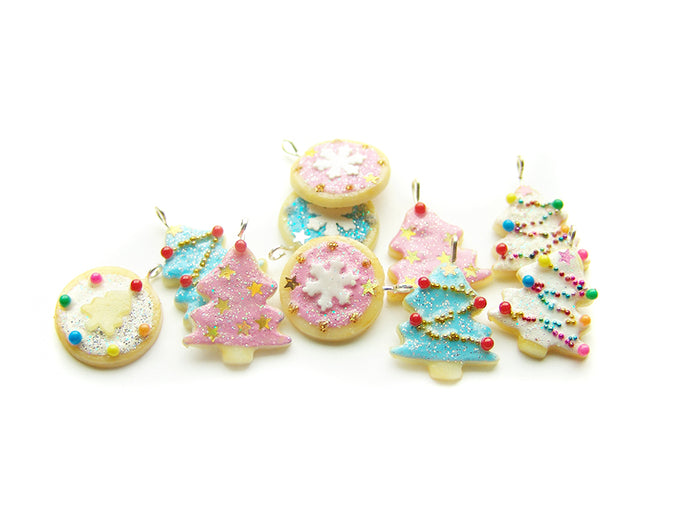 A Very Sucre Sucre Christmas Tree Sugar Cookie Charm Collection, Holiday 2018 - Sucre Sucre Miniatures