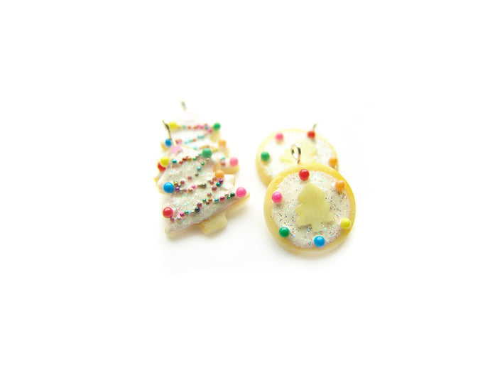 A White Christmas Sugar Cookie Charm Collection, A Very Sucre Sucre Holiday 2018 - Sucre Sucre Miniatures