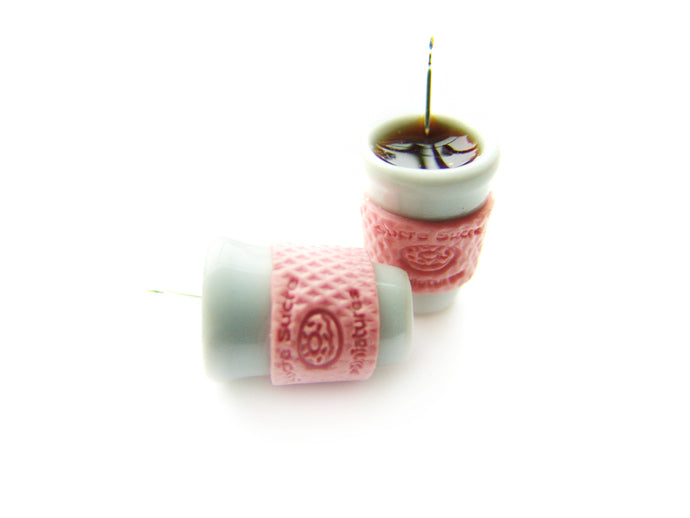 Cup-a-Coffee A Very Sucre Sucre Signature Holiday 2018 Charm - Sucre Sucre Miniatures