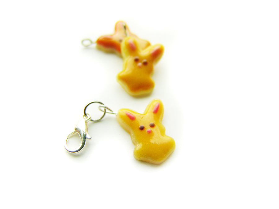 Caramel Bunny Cookie Charm - Sucre Sucre Miniatures