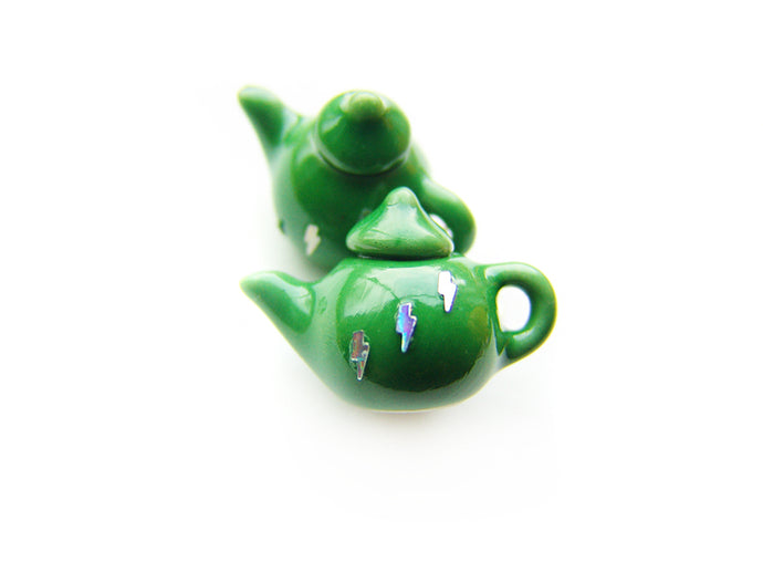 Tea in the Commonroom Wizardr-Teapot Charm - Sucre Sucre Miniatures