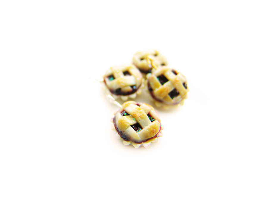Farmer's Market Whole Berry Lattice Pie (tiny charm sized!) - Sucre Sucre Miniatures