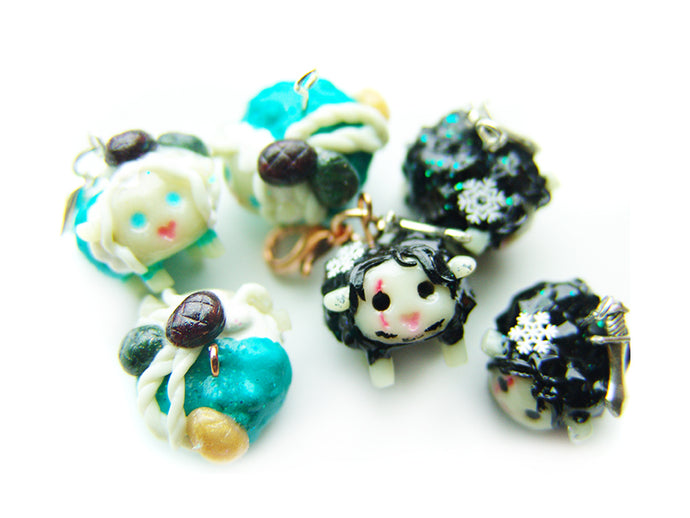 Winter is Here Sleepy Sheep Charm Collection - Sucre Sucre Miniatures
