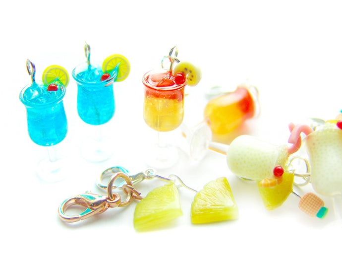 PRESALE: End-August Batch: 2019 Summertime Mixed Drinks Charm Collection - Sucre Sucre Miniatures