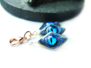 Ice Dragon Eye GoT Cookie Charm - Sucre Sucre Miniatures