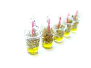 Wizardr-tea Charm Collection, No.007 Gillyweed Iced Tea - Sucre Sucre Miniatures