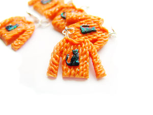 Halloween Knit Sweaters - Sucre Sucre Miniatures