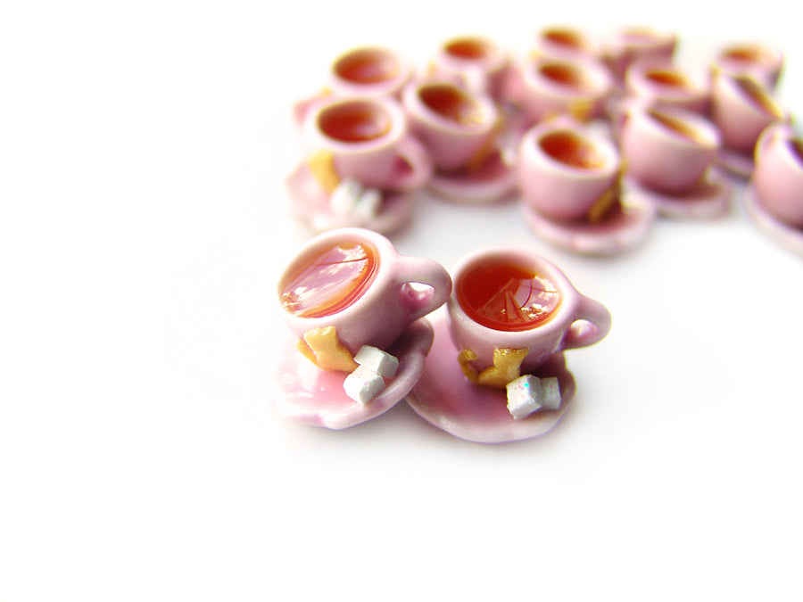 Wizardr-tea Charm Collection, No.010 Umbridge's Kit-Tea Cup Charm