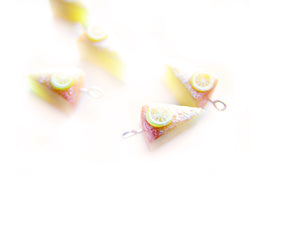 New Year's Lemon Cake Charm - Sucre Sucre Miniatures