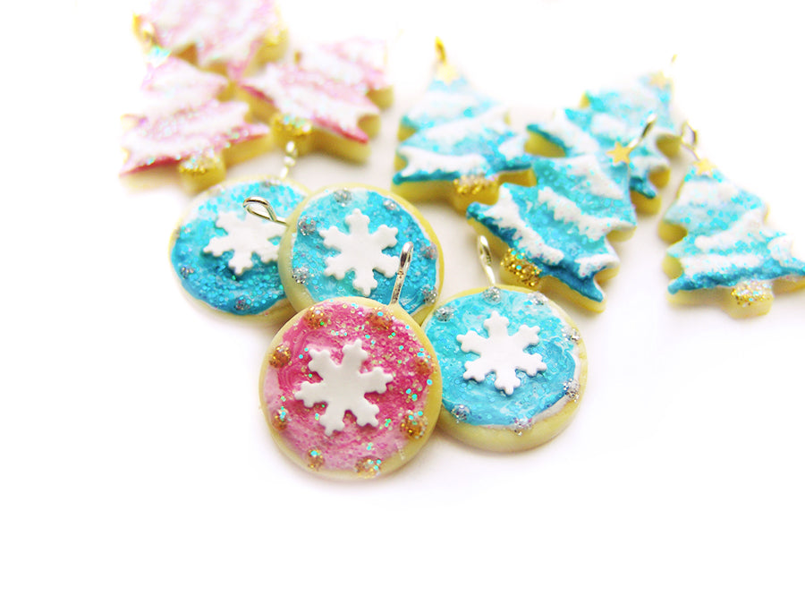 Ombré Snowflake Cameo Cookie, A Very Sucre Sucre Holiday 2019
