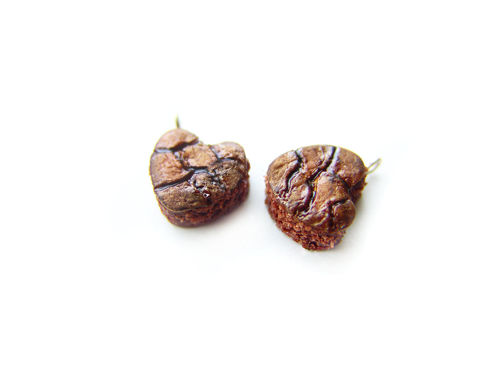 Heart Fudge Brownie Charm - Sucre Sucre Miniatures