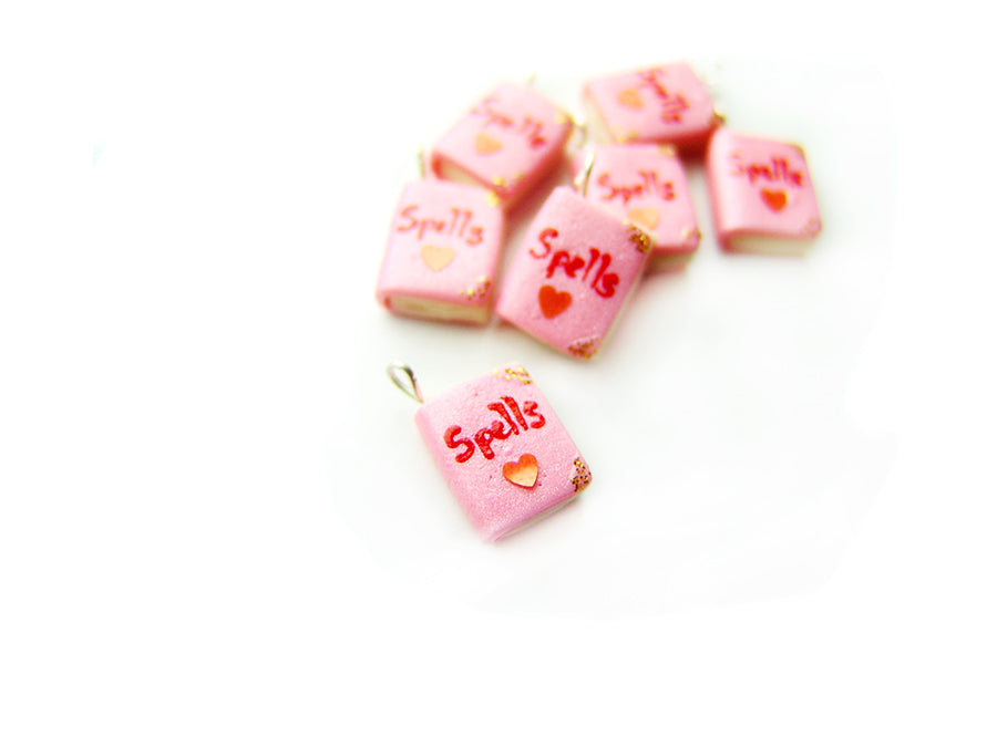 Book of Love Spells Charm - Sucre Sucre Miniatures