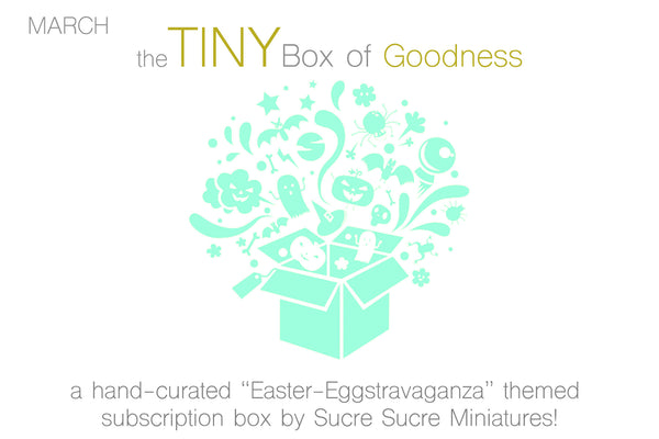 "March TBoG: ""A Very Sucre Sucre Spring!"" Easter Basket Eggstravaganza Subscription Box"