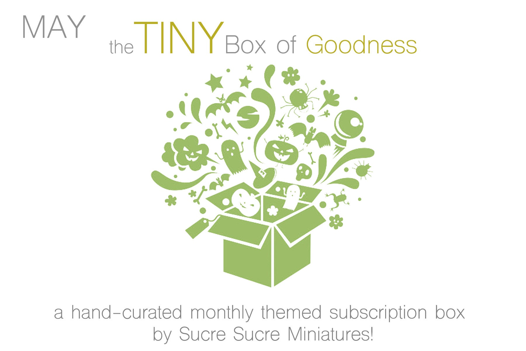 "May TBoG: ""April Showers Bring May Flowers!"" Subscription Box"