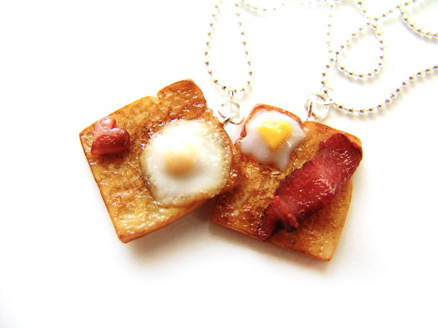 Breakfast Club BFF Necklace Set - Sucre Sucre Miniatures