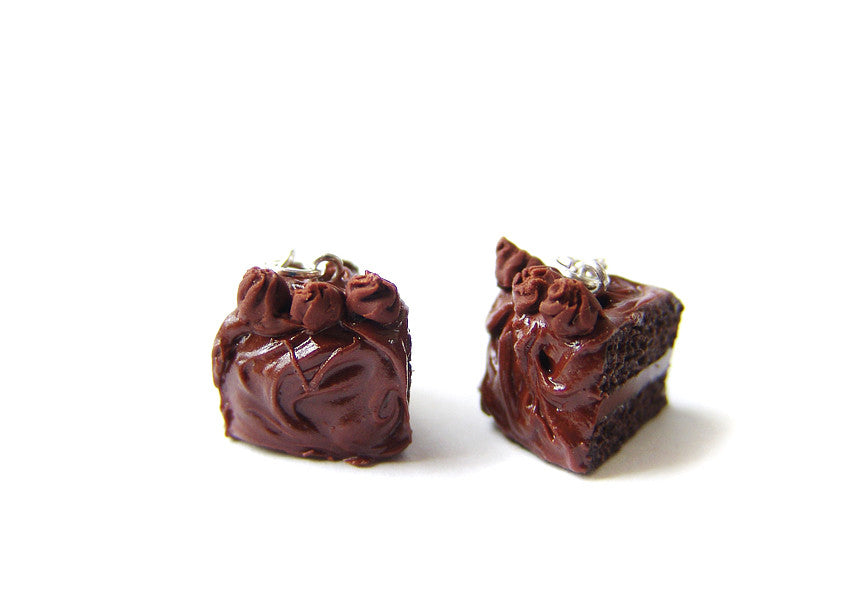 Devil's Food Chocolate Cake Charm - Sucre Sucre Miniatures